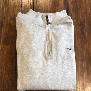 Men's VV sweater 1/4 zip